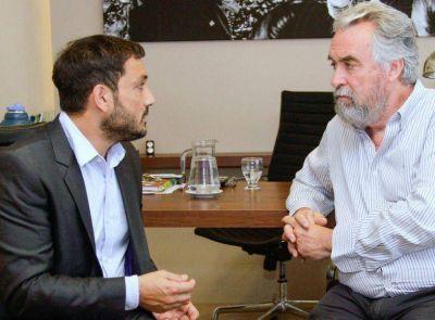 Patricio Mussi se reuni� con el Intendente de Moreno, Mariano West