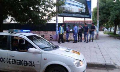 Detuvieron automovilista que insultó a inspectores en control vehicular