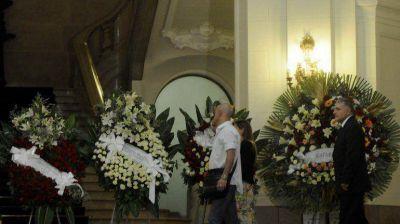 Despidieron los restos de Gerardo Sofovich en la Legislatura porteña