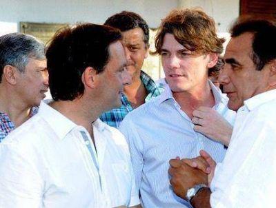 Fuerte respaldo de Nicol�s Scioli para Ariel Sujarchuk en Escobar