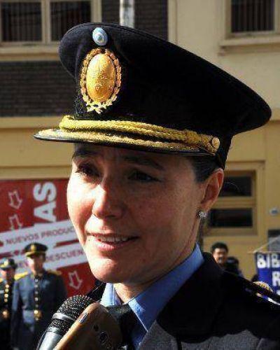Cria. Gabriela Rodríguez destacó el rol de la mujer policía