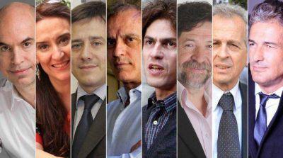 Conocé a los veintidós precandidatos a jefe de gobierno porteño en las PASO
