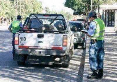 Centenario: el mal manejo deriva en 20 multas por día