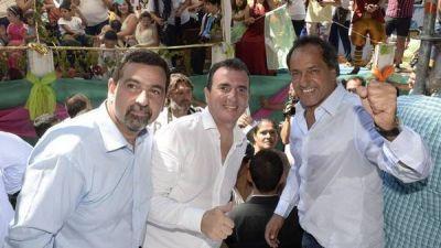 Scioli también fue a Mendoza y cargó contra la oposición