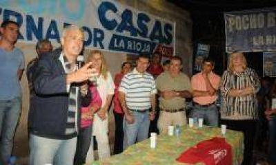 Interna PJ. Julián Dominguez celebró la victoria de Sergio Casas