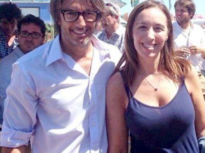 Nunzio con Macri y Vidal en Expoagro