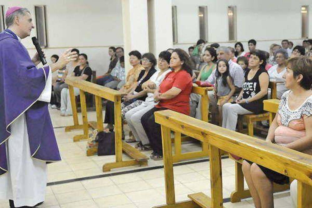 Torrado Mosconi celebró con la parroquia Santísimo Sacramento