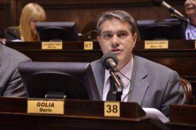 El diputado Gol�a no descart� una precandidatura de Juli�n Dom�nguez a Gobernador