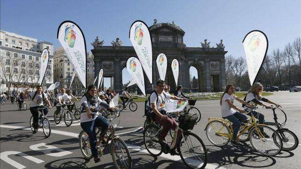 España: Marcha ciclista para pedir la derogación de la Ley del Aborto