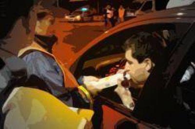 483 vehículos secuestrados en una semana, 63 fueron fué por alcoholemia