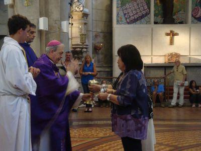 El obispo pidió defender la dignidad de la mujer, y comprometerse para superar situaciones de vulnerabilidad y exclusión