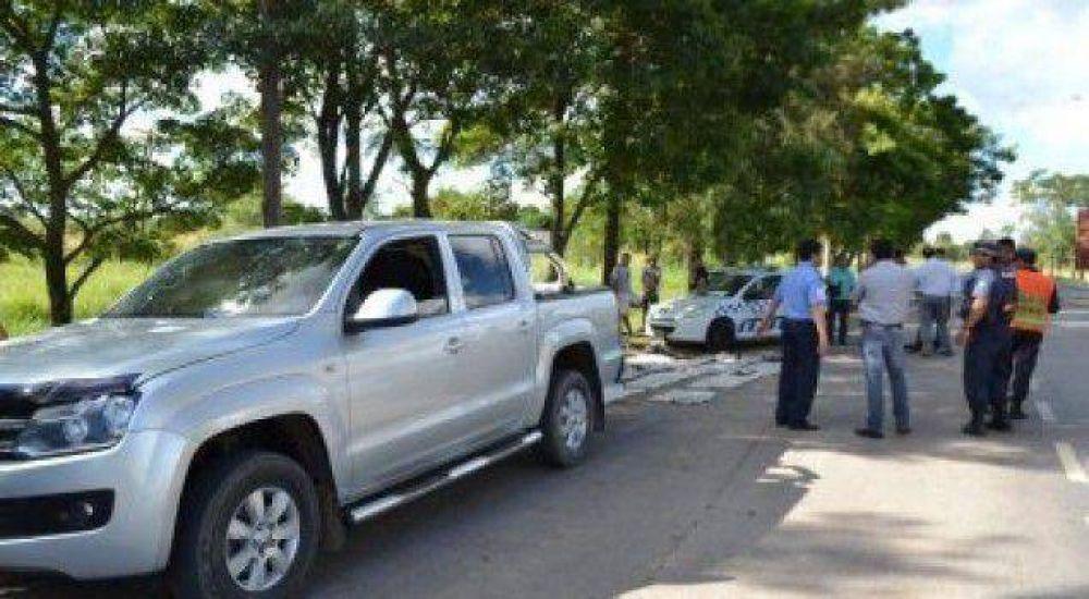 Camioneta con droga: investigarán