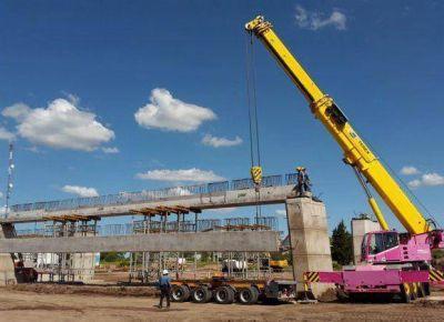 El puente de Santos Ortiz y ruta 147 tiene un avance del 60%