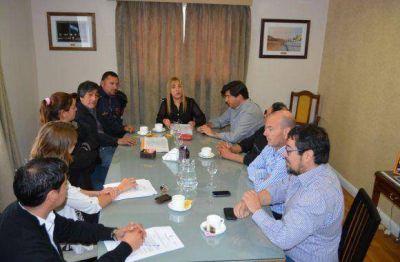 Concejales recibieron a la C�mara Fueguina de Pescadores Artesanales