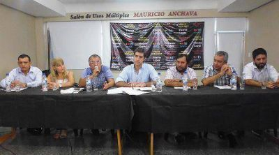 Lanzaron la Mesa Sindical del Frente Renovador para Vicente L�pez