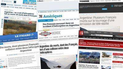 La reacción de la prensa francesa tras el accidente en Argentina