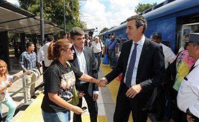 Randazzo inauguró la nueva estación Hurlingham de la línea San Martín