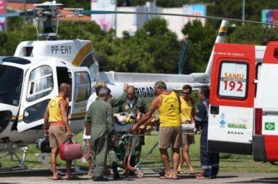 El niño posadeño accidentado en Brasil está lucido, camina y habla