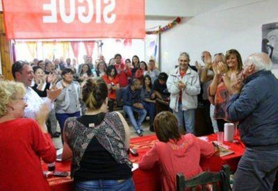 Entre choripanes proclamaron a Rios candidata a intendente Ushuaia