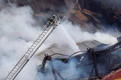 Cuáles son las empresas involucradas en el incendio de Iron Mountain