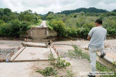Dos ciudades del sur tucumano ser�n evacuadas por las inundaciones