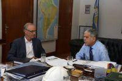 Ministros De Vido y Gollan repasaron el Plan Cibersalud