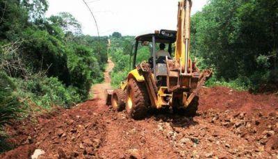 Vecinos de San Vicente se manifiestan para exigir el arreglo de caminos