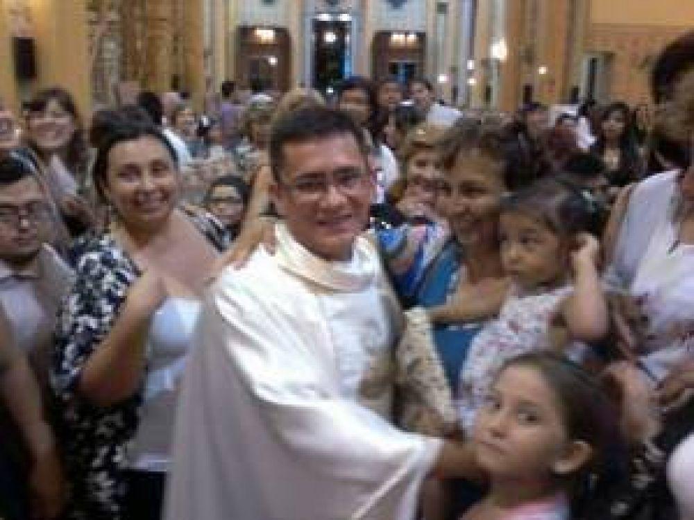 La Rioja tiene un nuevo sacerdote: Roque Arturo Carabajal