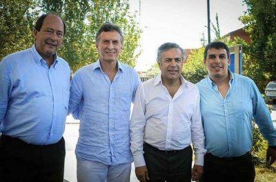 Macri, Sanz y Cornejo apoyan la candidatura a intendente de Lucas Quesada