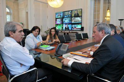 Nación respaldó a la provincia en la reconstrucción de los departamentos afectados por el temporal