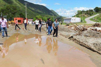 Aconquija: hubo mucho da�o en puentes, caminos e infraestructura