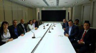 Lucía se reunió con ejecutivos de la empresa Yamana Gold