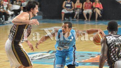 Bahía Basket le ganó a Lanús en el estadio Casanova 95 a 91 por la Liga Nacional