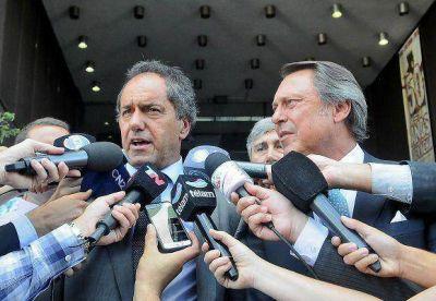 Scioli presenció el inicio del primer juicio por jurados en San Martín