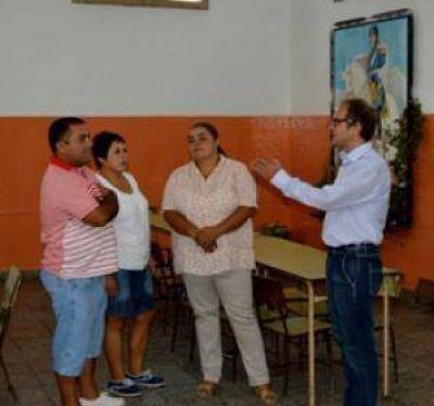 Pablo Yannibelli visitó Chillar y Cachari