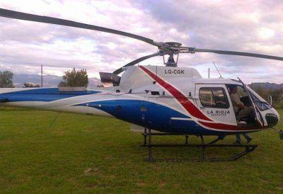 Beder Herrera deberá explicar por qué prestó uno de los helicópteros al reality