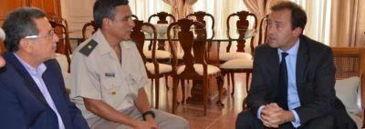 Beder Herrera ofreció toda la predisposición de la provincia al gobierno francés