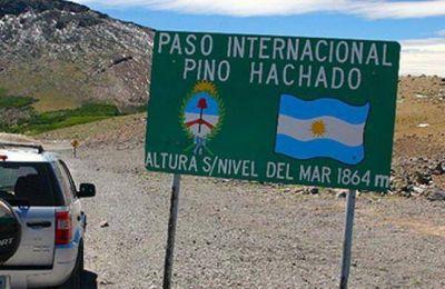 Piden agilizar los controles fronterizos en Pino Hachado