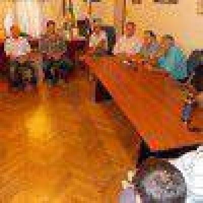 Reunión con gremialistas por la tasa portuaria