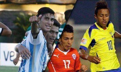 Argentina y Ecuador pisaron firme en el Sub-17