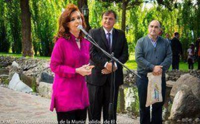 Acto central de Cristina será frente a la APN