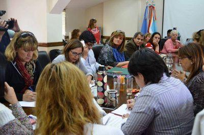 Montero expuso sobre edificios del Ministerio de Desarrollo Social