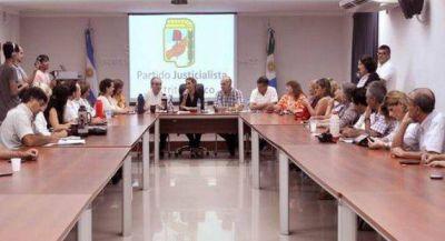 Sesionó el Consejo del PJ con las PASO en la agenda política central
