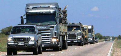 Vialidad Nacional montará un puente Bailey en Quines y en Los Corrales