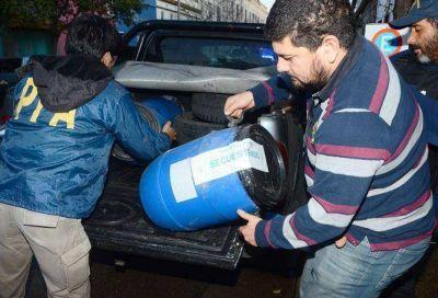 Procesan a dos santarroseños que recibían droga del narco mendocino detenido en La Pampa