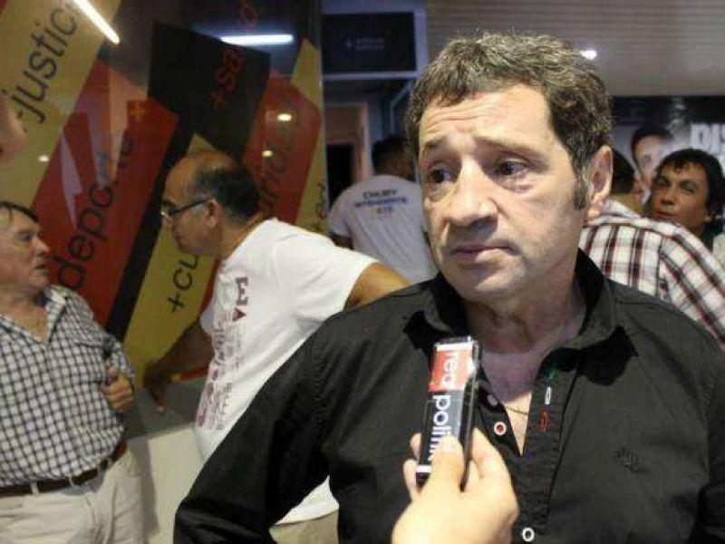 """Juan Carlos Berón: """"Estar trabajando directamente con el 'Chubito' para mí es un orgullo"""""""