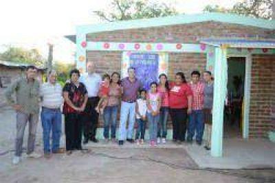 Entregaron vivienda social a familia de Tío Chacra