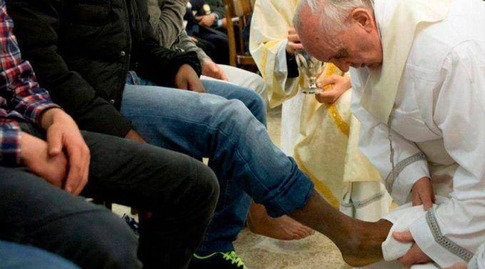 Papa Francisco celebrará la Misa de Jueves Santo en una cárcel de Roma