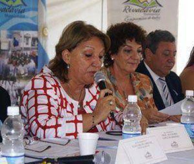 Ana María López pidió el apoyo de los vecinos para otro período en la intendencia
