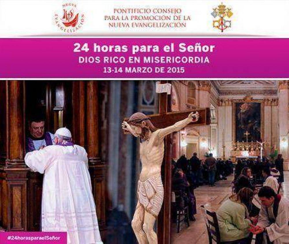"""El cardenal Poli llama a adherir a la jornada penitencial """"24 horas para el Señor"""""""